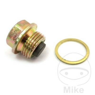 For BMW R 80 RT Magnetic Oil Drain Sump Plug Bolt