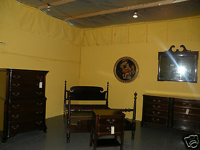 Vintage Furniture Georgetown Galleries Antique Solid Mahogany Bedroom Set
