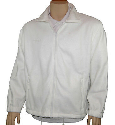 CATHEDRAL Arcticfleece Full Zip Jacket Mens Bowls Polyester Fleece White