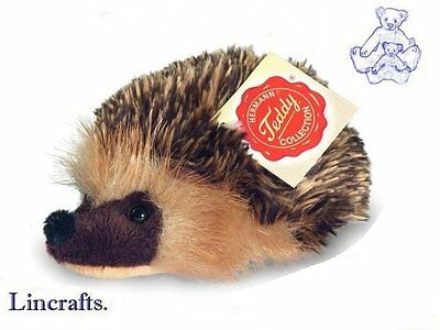 Baby Hedgehog Plush Soft Toy by Teddy Hermann. Sold by Lincrafts. 92114 REDUCED