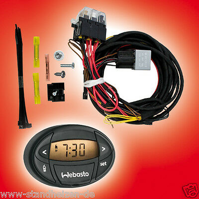 Upgrade Set VW BOOSTER HEATER WEBASTO T5 Upgrade Kit WITH WATCH