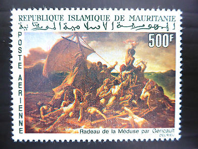 MAURITANIA 1966 - 500F Painting Unmounted Mint NEW LOWER PRICE FP1230