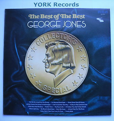 GEORGE JONES - The Best Of The Best - Ex Con LP Record RCA Victor LSA 3251