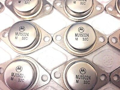 MJ15024 ,16A Silicon Power Transistor TO-3 BY MOTOROLA