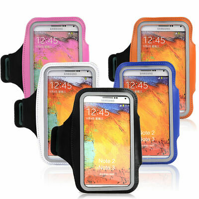 Sports Running Durable Gym Armband Arm Band Case Cover Holder Samsung NOTE2/3