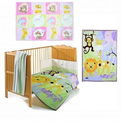 Todd Baby Soft Fleece Blanket Bed Throw Newborn Brand New Gift