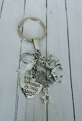 Horse loss, In Memory/memorial key ring/bag charm