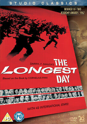 The Longest Day DVD (2005) John Wayne