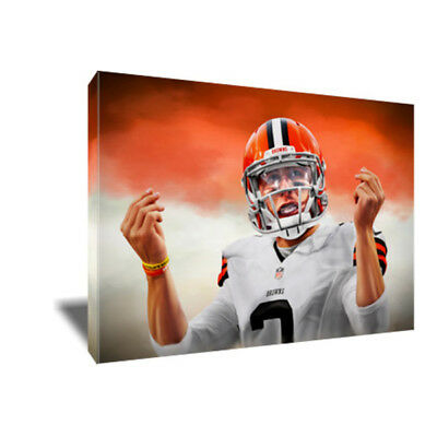 JOHNNY MANZIEL Money Signs Poster Photo Painting Artwork on CANVAS Wall Art