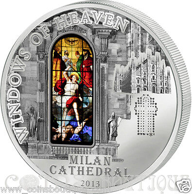 Milan Cathedral-WOH  Silver Coin Cook Islands 2013 Proof
