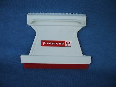 original vintage 1960's-1970's  Firestone tires, ice scraper collectible