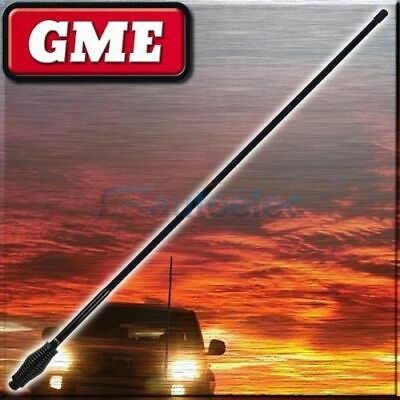 Gme Ae4702B 6.6Dbi Black Heavy Duty Uhf Cb Radio Antenna Bull Bar Fiberglass New