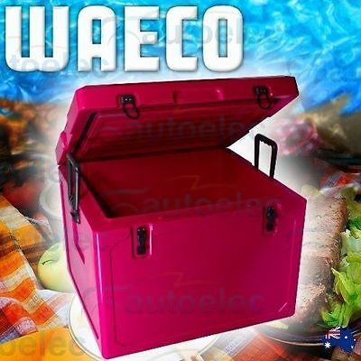 55L Litre Pink Ice Box Waeco Cool-Ice Cooler Icebox Travelling Car Boat Fishing