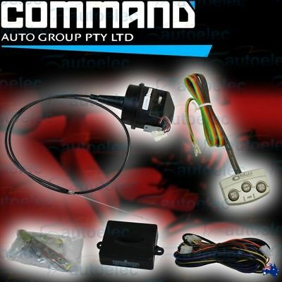 Command Ap300 Electric Cruise Control Diy Kit + Cm7 Pad Dashboard Switch