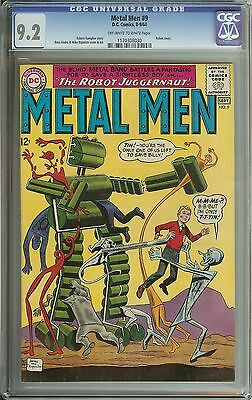 Metal Men #9 Cgc 9.2 Ow/wh Pages // Ross Andru/mike Esposito Cover/art
