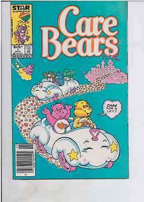 Marvel Comics Group! Care Bears! Issue 1!