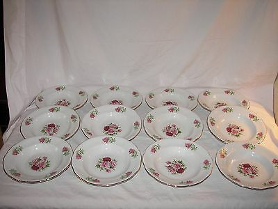 12 FORMALITIES BY BAUM BROS. MARIA WIDE RIM SOUP BOWLS