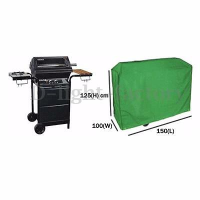 Waterproof BBQ Cover Outdoor Garden Wagon Barbecue Grill Protector Rain-Proof