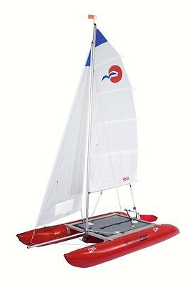 Inflatable Catamaran portable 16ft weighs only 136lbs