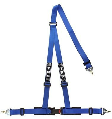 TRS Clubman 3 Point Harness BLUE (Snap Hook) - Road Legal ECE Approved (Saloon)