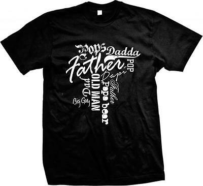 Father Dadda Old Man Pops Dad Pop Papa Bear- Father's Day Shirt! Mens T-shirt