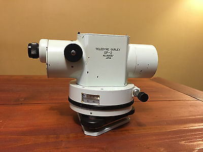 TELEDYNE GURLEY GP-2 AUTOMATIC LEVEL MADE IN JAPAN SURVEYING