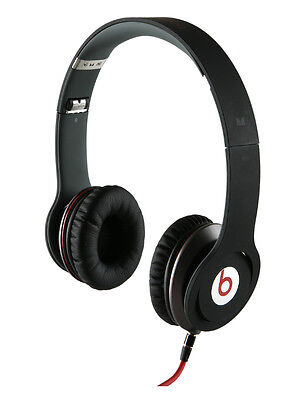 NEW Beats by Dr. Dre Solo HD Headband Headphones Drenched in Color - Matte Black