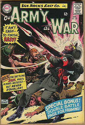 Our Army At War #157 - Sgt Rock Nothin's Ever Lost In War - 1965 (Graded 5.5) WH