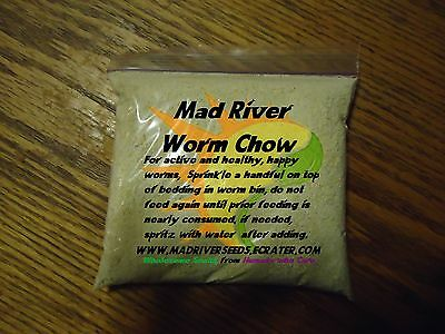 Mad River Organic Worm Chow  10 oz. For happy healthy worms!