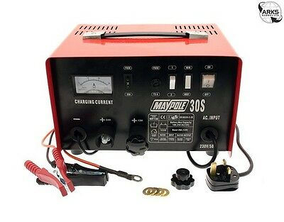 MAYPOLE Metal Battery Charger - 20A - 12V/24V - 730 |Next working day to UK