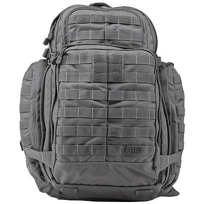 5.11 Rush 72 Tactical Combat Rucksack Army Assault Molle Backpack 55L Storm Grey
