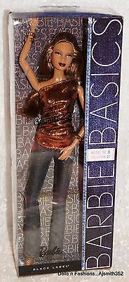 Gorgeous AA Barbie Basic Metallic Collection 002.5 Model #8 Dressed Doll - NRFB