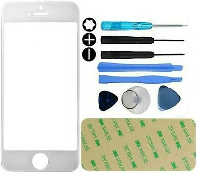Front Outer Screen Glass Lens replacement Repair Kit For iPhone 6 6S Tools White