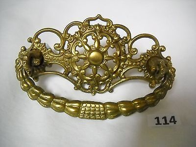"Antique Victorian Brass Drawer Pull.3 "" Centers"