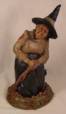 Tom Clark Gnome 84~#1003 Hazel-R~Ed 54~Good Witch~Halloween Vintage Collectible