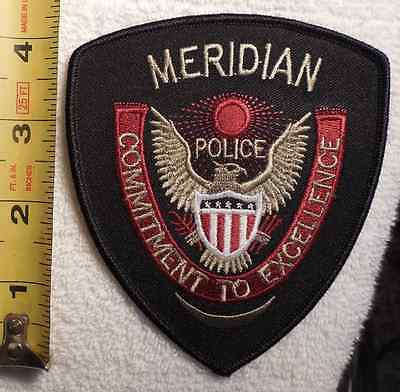 MERIDIAN MISSISSIPPI POLICE PATCH (HIGHWAY PATROL, SHERIFF, STATE)