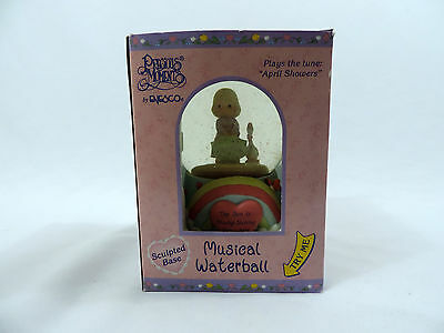 Precious Moments Musical Waterball The Sun is Always Shining Somewhere Enesco