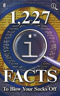 1,227 QI Facts To Blow Your Socks Off, Harkin, James Book The Cheap Fast Free