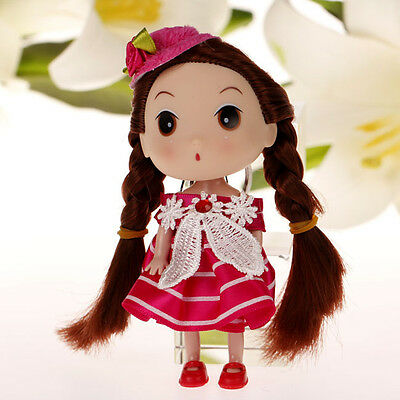 New Fashion Korea Ddung Doll Flower Hat For Backpack Keychain Girls Party Gift