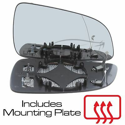 Vauxhall Astra H Mk5 2006-2009 Wing Mirror Glass Heated O/S Drivers Side Right