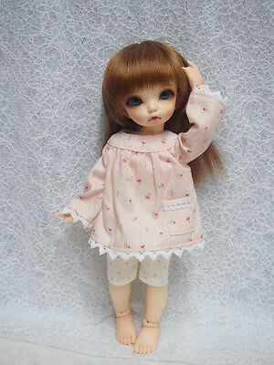 Super Dollfie Yo SD Littlefee Baby Outfit - Baby Pink