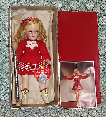 1950s Ideal P91 Toni MARY HARTLINE with Wrist Tag, Photo and Baton  MIB!