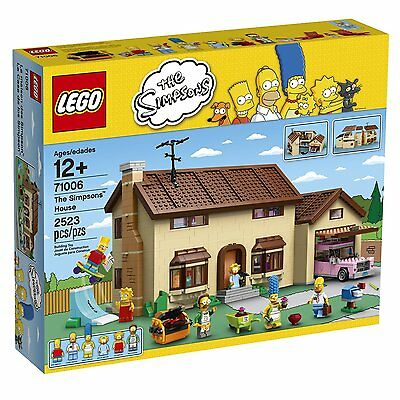 BRAND NEW! LEGO Simpsons 71006 The Simpsons House