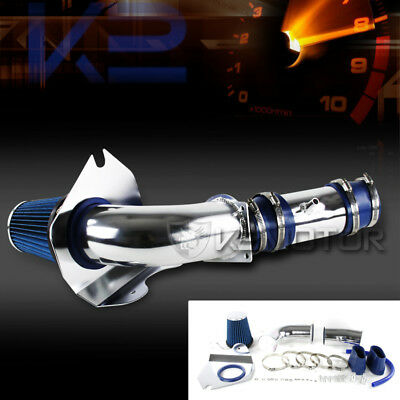 Ford 94-95 Mustang GT GTS 5.0L V8 Cold Air Intake System+High Flow Filter Blue