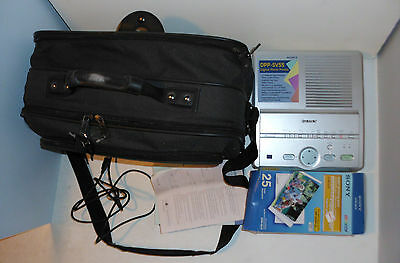 Sony DPP-SV55 Digital Photo Printer with Accessories, Manuals and Carrying Bag