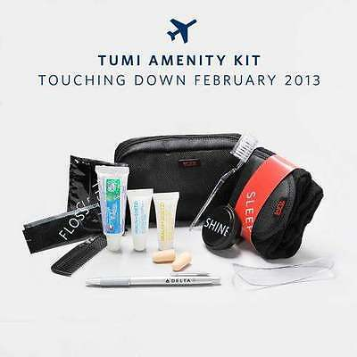 TUMI Delta Air Lines Business Elite Personal Amenity Kit New In Sealed Package