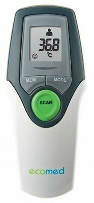 promed ecomed 23400  Infrarot Fieberthermometer, Ohr Stirn Thermometer, digital