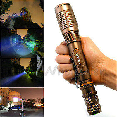 Ultrafire NEW 2200 Lumen CREE XML-T6 LED 18650 Flashlight Torch Zoomable USA