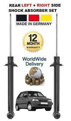 For Kia Pride 1990--> 1.1 1.3 New Rear Left + Right Shock Absorbers Shockers Set