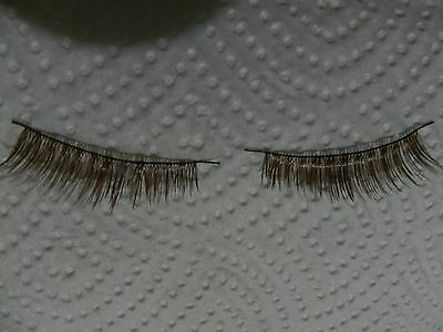 Reborn Wispy Eyelashes Brown For Reborn Baby Dolls <3!!.Priced to Sell